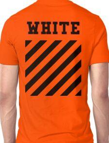 Off White Logo in Orange (White) Unisex T-Shirt