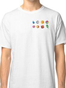 Pokemon Gym Badges Classic T-Shirt