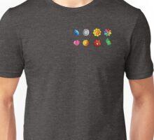 Pokemon Gym Badges Unisex T-Shirt
