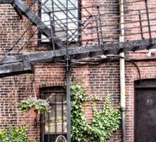 Boston Fire Escape Sticker