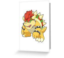Super Smash Bros. Bowser Greeting Card
