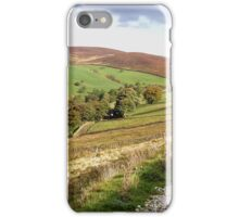 Yorkshire Dales near Skipton, UK iPhone Case/Skin