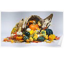 Cornucopia of Thanksgiving Poster