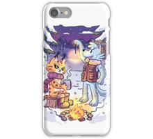 Goldwood Chronicles: Mia and Heidy Winter  iPhone Case/Skin