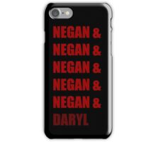 MY NAME IS DARYL iPhone Case/Skin