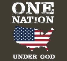 One Nation Under God - USA by colddeadhands