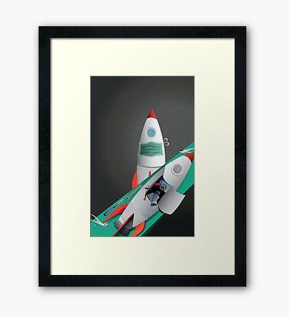 It's Not Rocket Surgery Framed Print