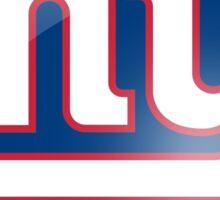 new york giants team Sticker