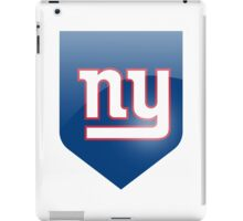new york giants team iPad Case/Skin