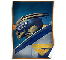 Archangel (Garrus) - Mass Effect Poster