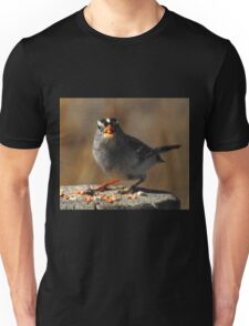 Male White Crowned Sparrow Unisex T-Shirt