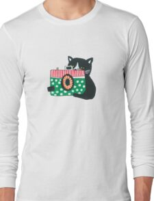 Photographer Cat Long Sleeve T-Shirt