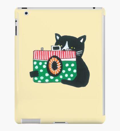 Photographer Cat iPad Case/Skin
