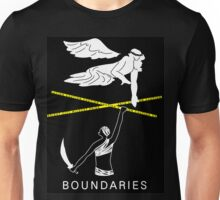 Boundaries Original Design: The Other Side Unisex T-Shirt