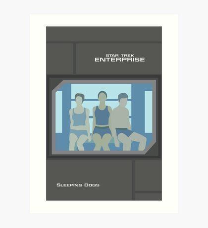 Enterprise | Sleeping Dogs Art Print