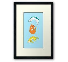 Cat Friends Framed Print
