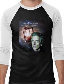 Somewhere...  (Dr. Who) Men's Baseball ¾ T-Shirt
