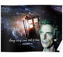 Somewhere...  (Dr. Who) Poster