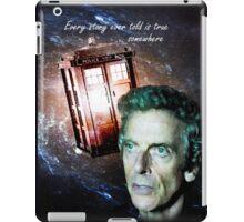 Somewhere...  (Dr. Who) iPad Case/Skin