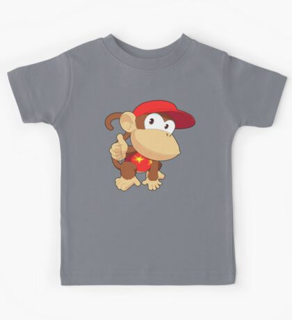 Super Smash Bros. Diddy Kong Kids Tee