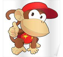 Super Smash Bros. Diddy Kong Poster
