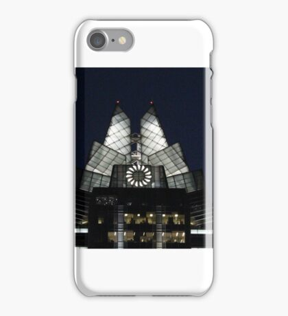 Frost Bank Building - Austin Texas iPhone Case/Skin