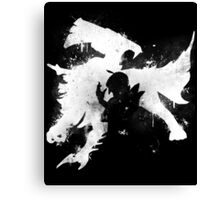 Null, I choose you! Canvas Print