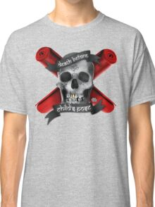 Yoga: Death Before Childs Pose Classic T-Shirt