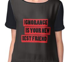 Ignorance Chiffon Top