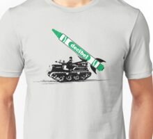 Crayon Missile by Decibel Clothing Unisex T-Shirt