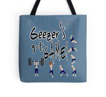 Geezer's Got Game! Tote Bag