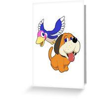 Super Smash Bros. Duck Hunt Greeting Card