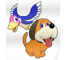 Super Smash Bros. Duck Hunt Poster