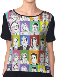 The Office Cast Chiffon Top