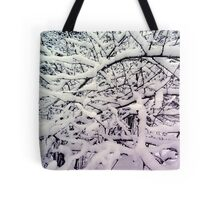 Winter branch Tote Bag