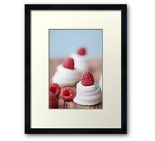 Raspberry Meringue  Framed Print