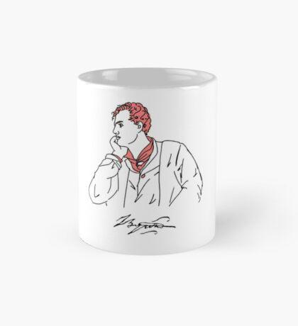 Lord Byron stencil Mug