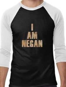 I Am Negan  Men's Baseball ¾ T-Shirt