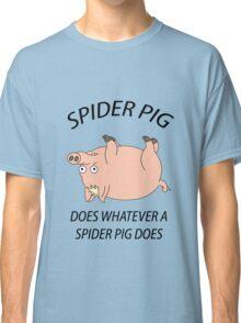 Spider Pig Classic T-Shirt