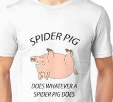 Spider Pig Unisex T-Shirt