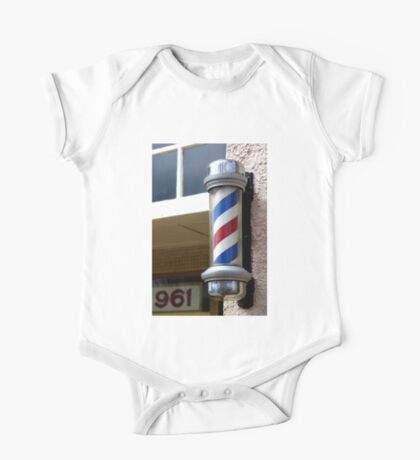 Barber Sign One Piece - Short Sleeve