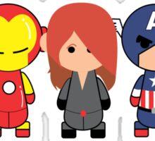 Little Avengers Cartoon Sticker