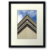 Corner Of Building Framed Print