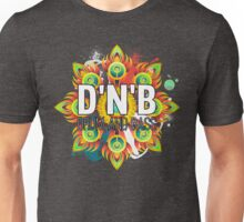 Drum And Bass - Trippy Music Design Unisex T-Shirt
