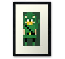 8-Bit Arrow Framed Print