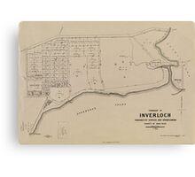 Historic Inverloch Canvas Print