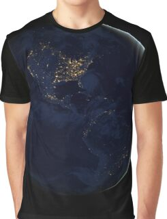 City Lights America Graphic T-Shirt