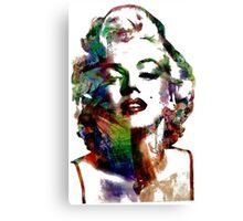 Mary watercolor Canvas Print