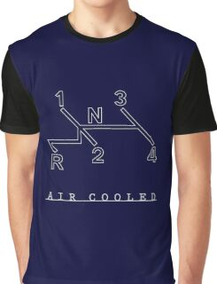VW Air Cooled Blueprint Graphic T-Shirt