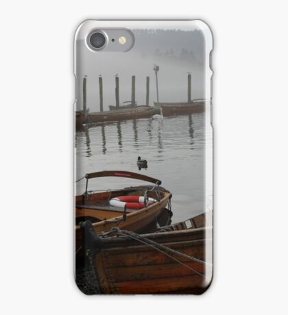 Rowing Boats in Lake Windermere iPhone Case/Skin